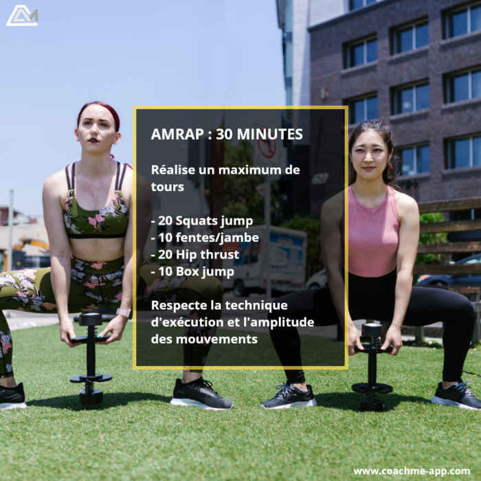 AMRAP - Workout 153